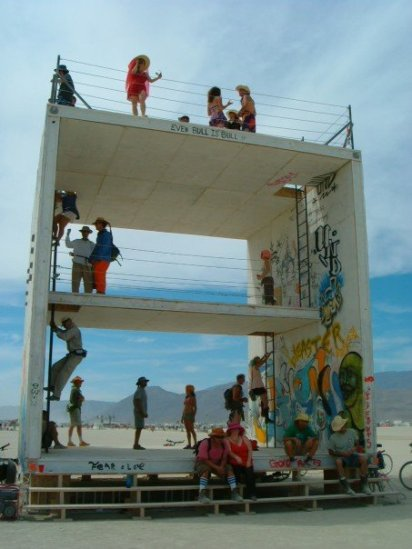 Sugar Cube, Burning Man 2006