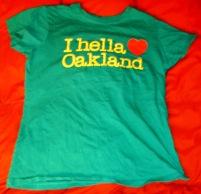I hella heart Oakland