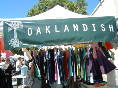 Oaklandish, with several new designs for the summer.