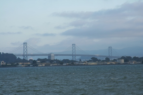 The West span looked like its usual self though.