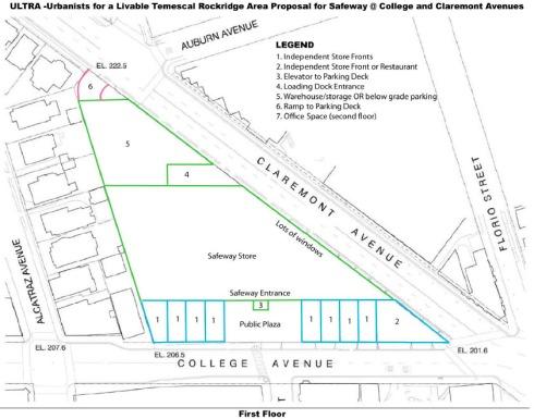 ULTRA Safeway Proposal 1st Floor