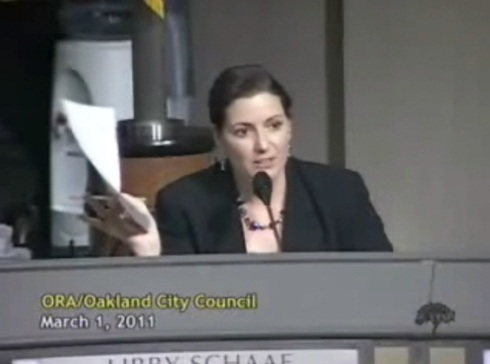 Libby Schaaf on Parking