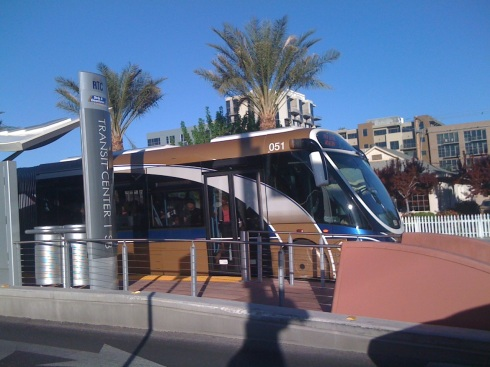 Vegas BRT Station 1