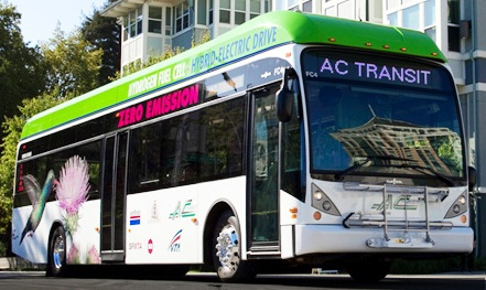 AC Transit Hydrogen Bus