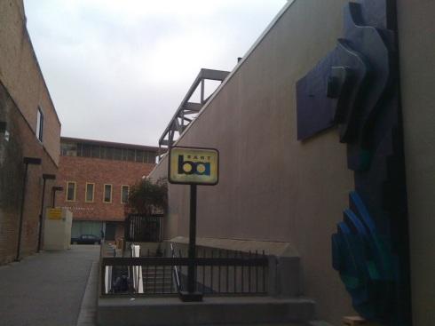 17th Street BART Alleyway