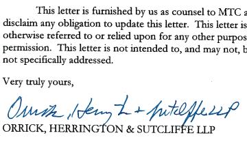 MTC Attorney Letter Signature