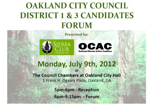 Sierra Club candidate forum